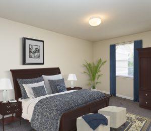 Potomac Woods bedroom