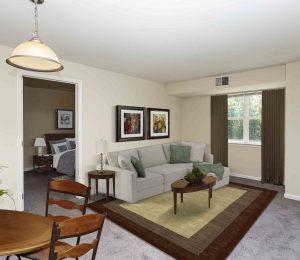 Potomac Woods living room
